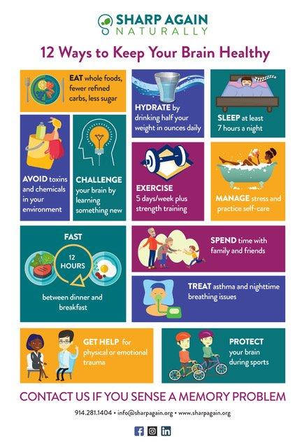 12 Ways to Keep Your Brain Healthy